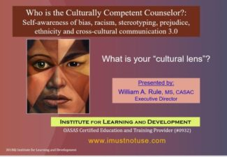 Who is the Culturally Competent Counselor? 3.0